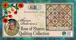 Sharon Pederson's Rose of Sharon - Aurifil Thread Set