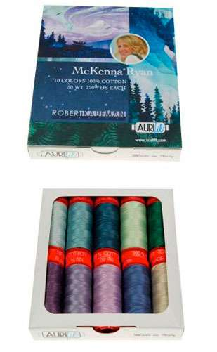 McKenna Ryan Aurifil Cotton Thread Collection