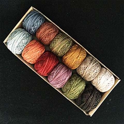 Valdani Variegated Perle Cotton Thread Collection