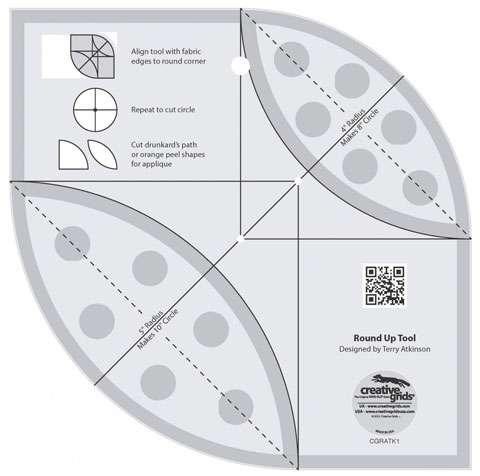 Creative Grids Round Up Tool CGRATK1