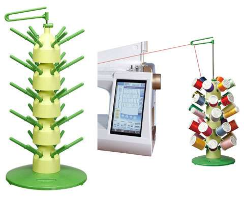 Clover Stack 'n Stitch Thread Tower with Nancy Zieman preview