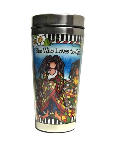 Loves To Quilt - Stainless Steel Tumbler
