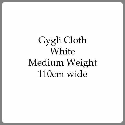 U184 Gygli Cloth - white, medium weight