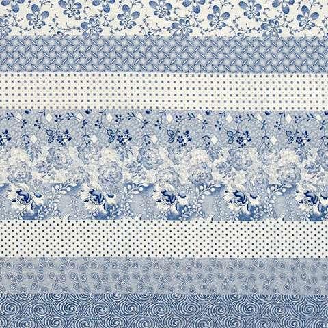 V936 Strips - Blue/White