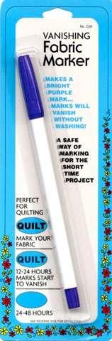 Vanishing Fabric Marker Pen