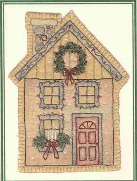 Vintage Ornament #12 - House