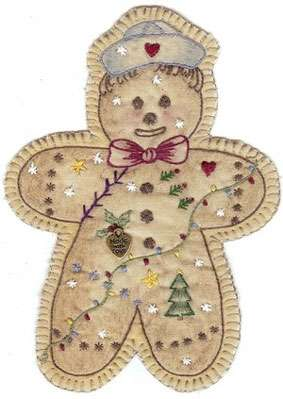Vintage Ornament #15 - Gingerbread Boy