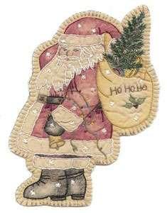 Vintage Ornament #17 - Santa