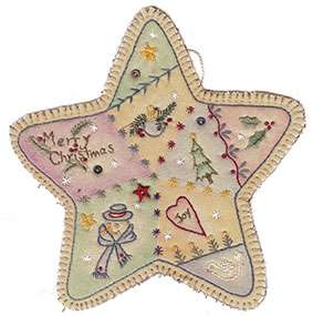Vintage Ornament #3 - Star