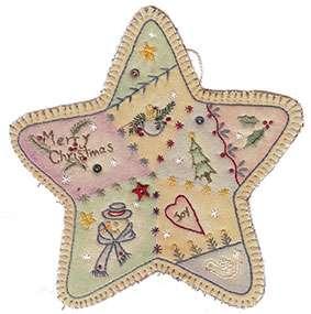 Vintage Ornament #3 - Star