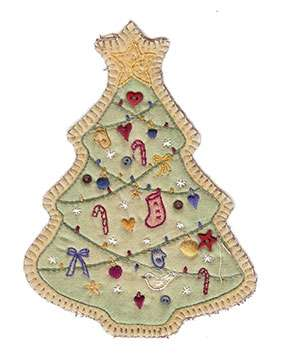 Vintage Ornament #5 - Christmas Tree