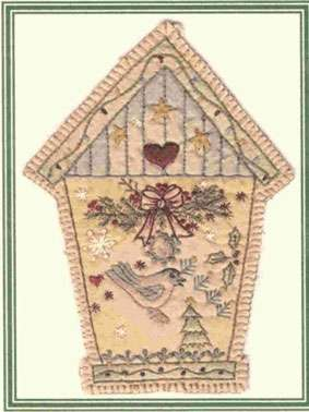 Vintage Ornament #6 - Birdhouse