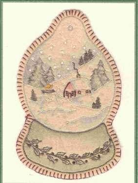 Vintage Ornament #8 - Snow Globe preview