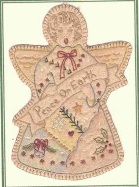 Vintage Ornament #9 - Christmas Angel