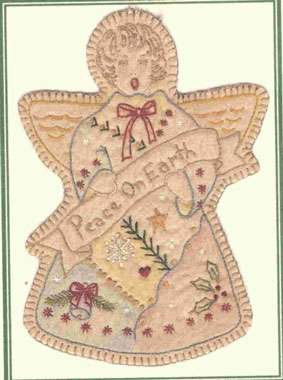 Vintage Ornament #9 - Christmas Angel preview