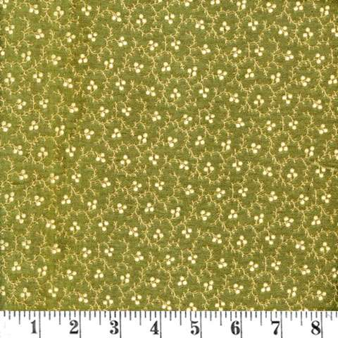 W904 Lydia - tiny berries on green