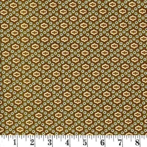 W905 Lydia - breen diamond foulard