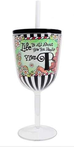 Plan B Tingle Wine Glass preview