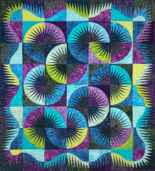 Japanese Fan Quilt Workshop with Maryann Paterson preview