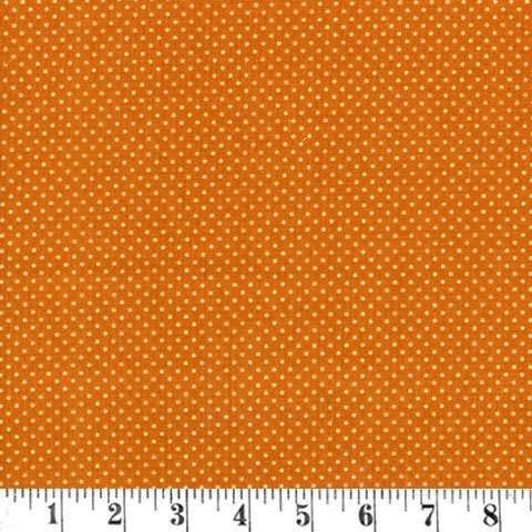 X214 Harvest Song - tiny dots on orange