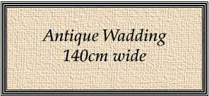 X307 Antique Wadding (140cm wide) preview