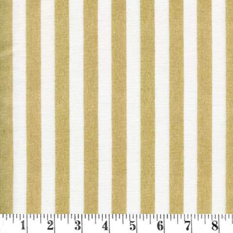 X392 Wild Rose - Cream & Gold Regency stripe