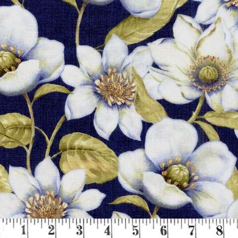 X518 Indigo Nature - floral