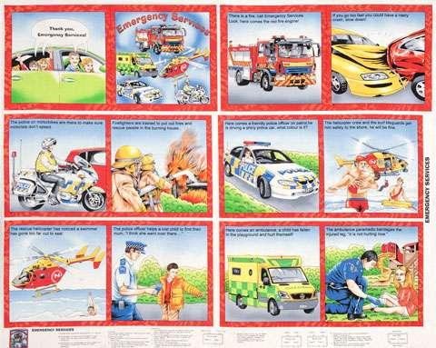 X722 Emergency Book Panel