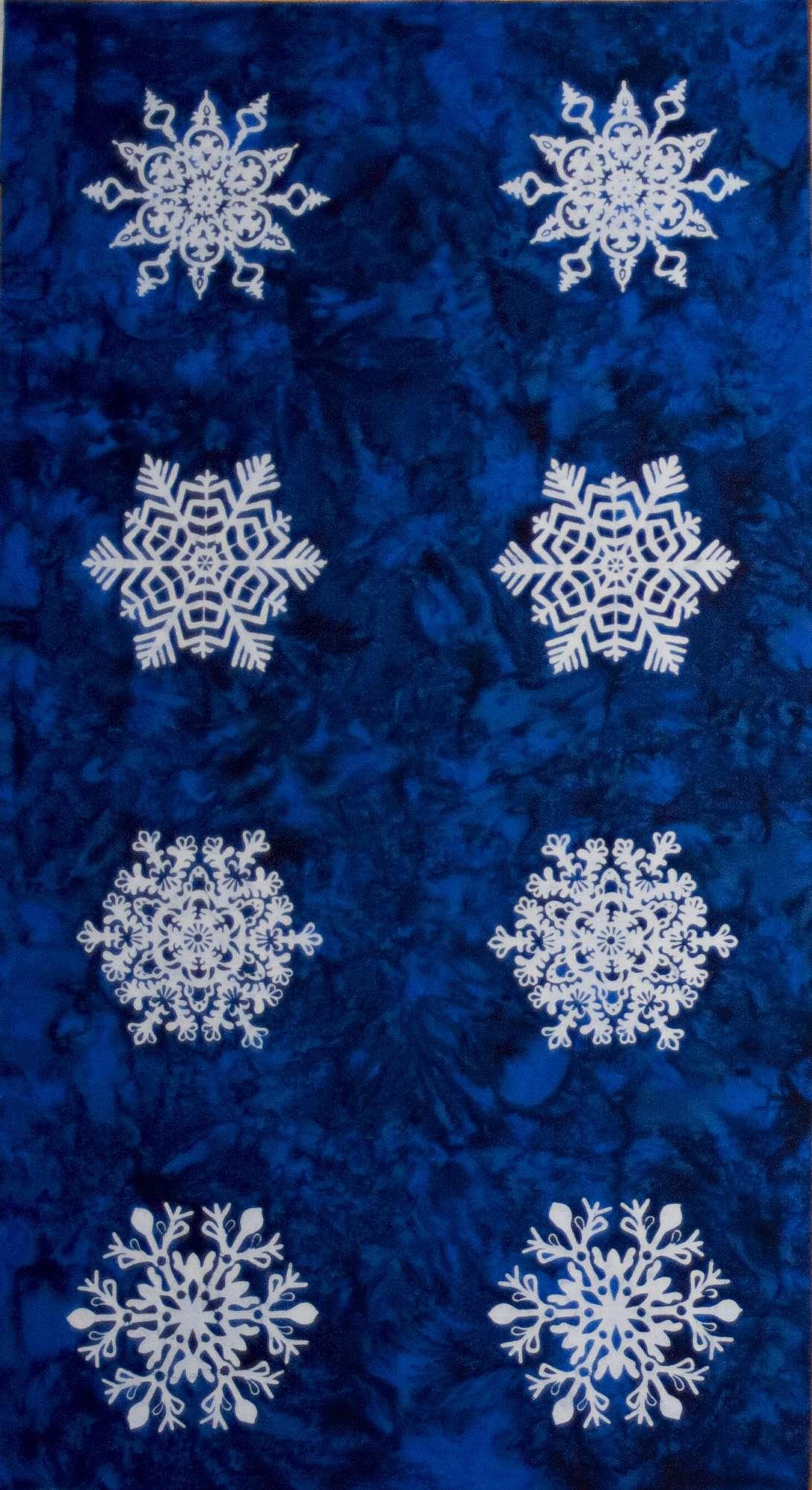 X799 Bali Snowflakes - Blueberry