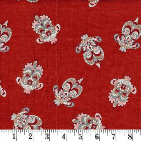 X860 Annemie - Red Floral Bee