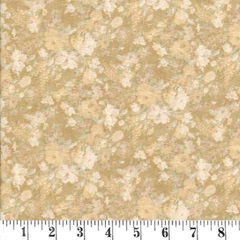 Y124 Gentle Flowers - Sand Small Rose