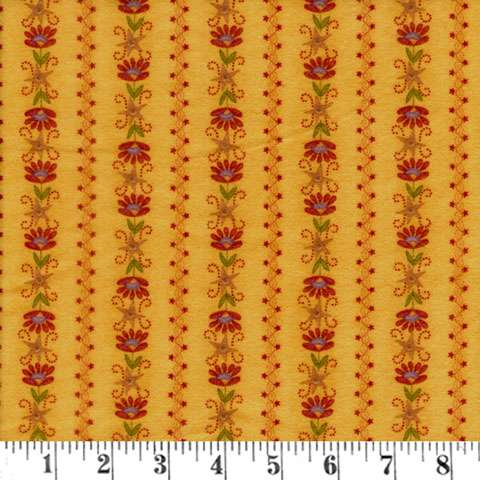 Y257 Flannel Essence - Gold Flower
