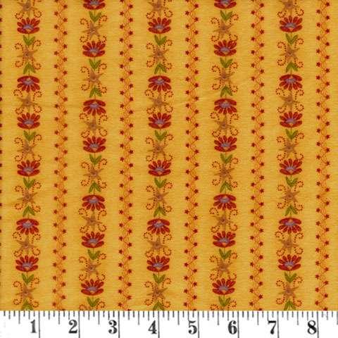 Y257 Flannel Essence - Gold Flower