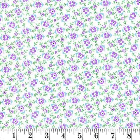 Y408 Walk In The Park - Flower Box - Purple