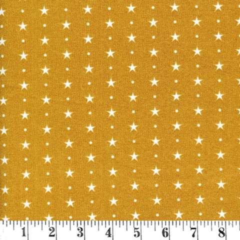 Y545 Christmas Classics - Mustard Star