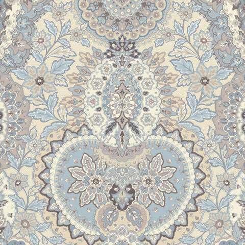 Y568 Gatsbys Flora - Blue Boarder
