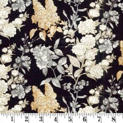 Y665 Sew Vintage - Etched Flower