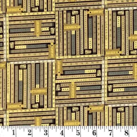 Y666 Sew Vintage - Measuring Tape
