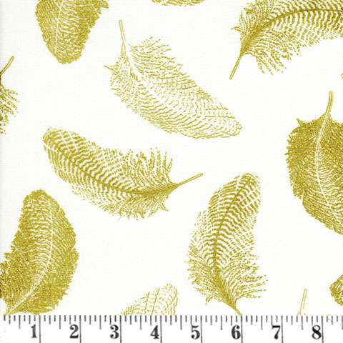 Y670 Gold Standard/Simply Sterling - feathers