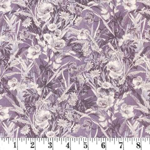 Y681 Gentle Flowers Amethyst
