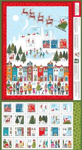 Y688 Wonderland Advent Calendar Panel