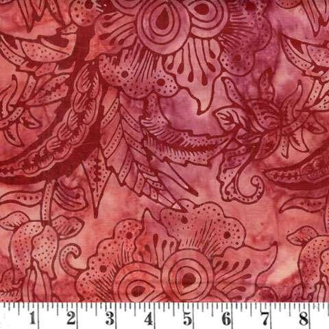 Y711 Batik - Red Dark Secrets
