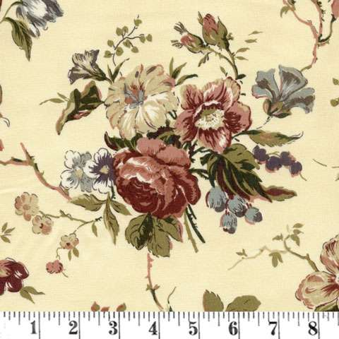 Y721 Country French - Antique Floral