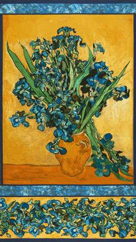 Y742 Vincent Van Gogh - Iris Panel