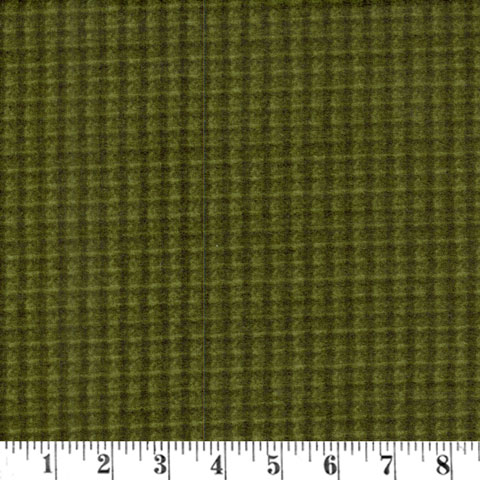 Y762 Woolies Flannel -Green