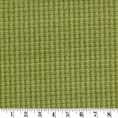 Y764 Woolies Flannel - Light Green