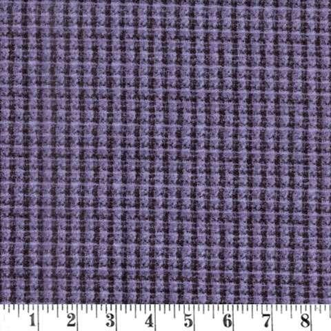 Y767 Woolies Flannel - Dark Purple - Special preview