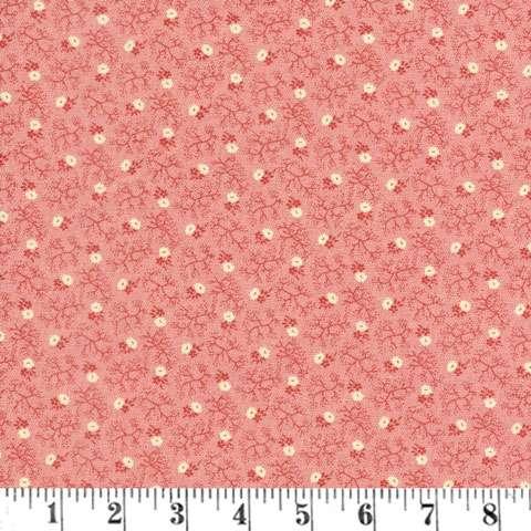 Y785 Judie's Album Quilt - Pink Cream Mini Floral