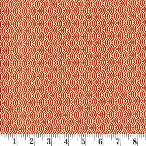 Y848 Extra Wide Backing - Waves Burgundy