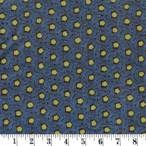 Y856 Tree of Life - Blue Wavy Tile